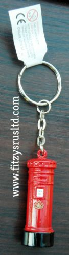 LONDON RED LETTER BOX OLD GPO KEYRING UK SOUVENIR POST MAIL LETTERBOX KEY RING